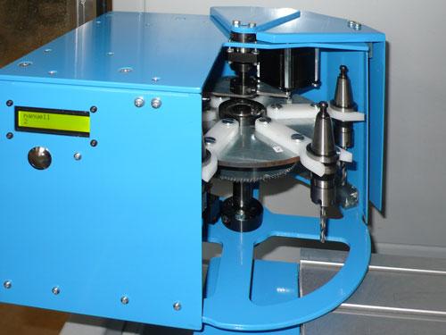 MillStep Automation GmbH · Ihr Partner für Fräsmaschinen · Revolver Werkzeugwechselsystem bis 10fach