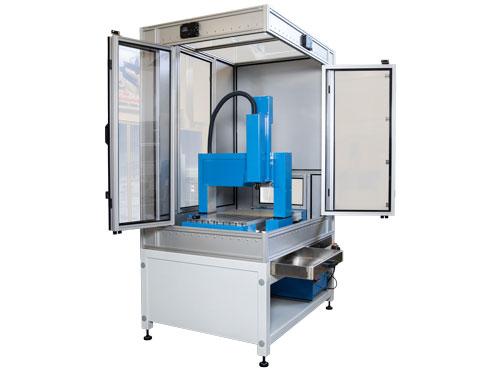 MillStep Automation GmbH · Ihr Partner für Fräsmaschinen · Sicherheitskabine