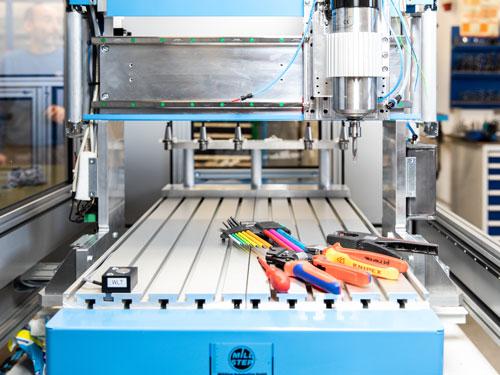 MillStep Automation GmbH · Ihr Partner für Fräsmaschinen · Längentaster