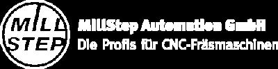 MillStep Automation GmbH · Ihr Partner für Fräsmaschinen · Logo